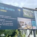 Bautafel Bluemepark